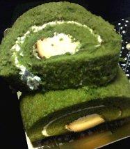 由布院 花麹菊屋の抹茶ぷりんロール