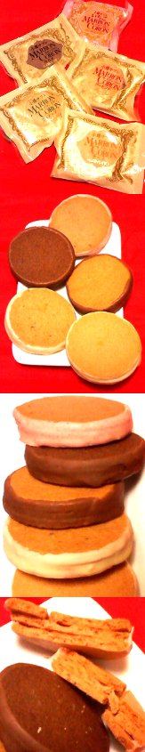 小樽あまとう(北海道)のマロンコロン6種(いちご・カカオ・ウォナッツ・アーモンド・チーズ)