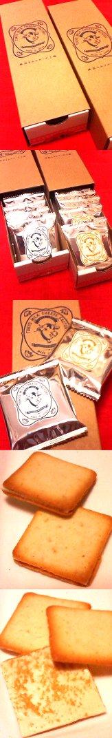 東京ミルクチーズ工場のクッキー(ソルト&カマンベール・蜂蜜&ゴルゴンゾーラ)