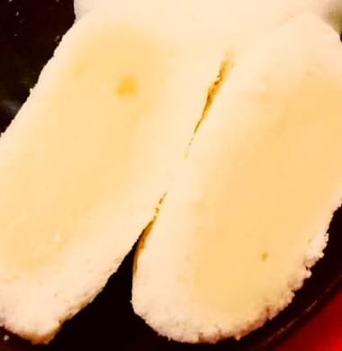 あさひ製菓「月でひろった卵」